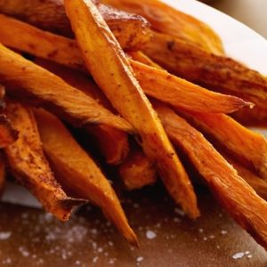 Cinnamon-Pear-Balsamic-Roasted-Sweet-Potatoes-554x413